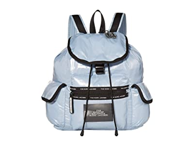 Marc Jacobs The Ripstop Backpack (Blue Mist) Backpack Bags