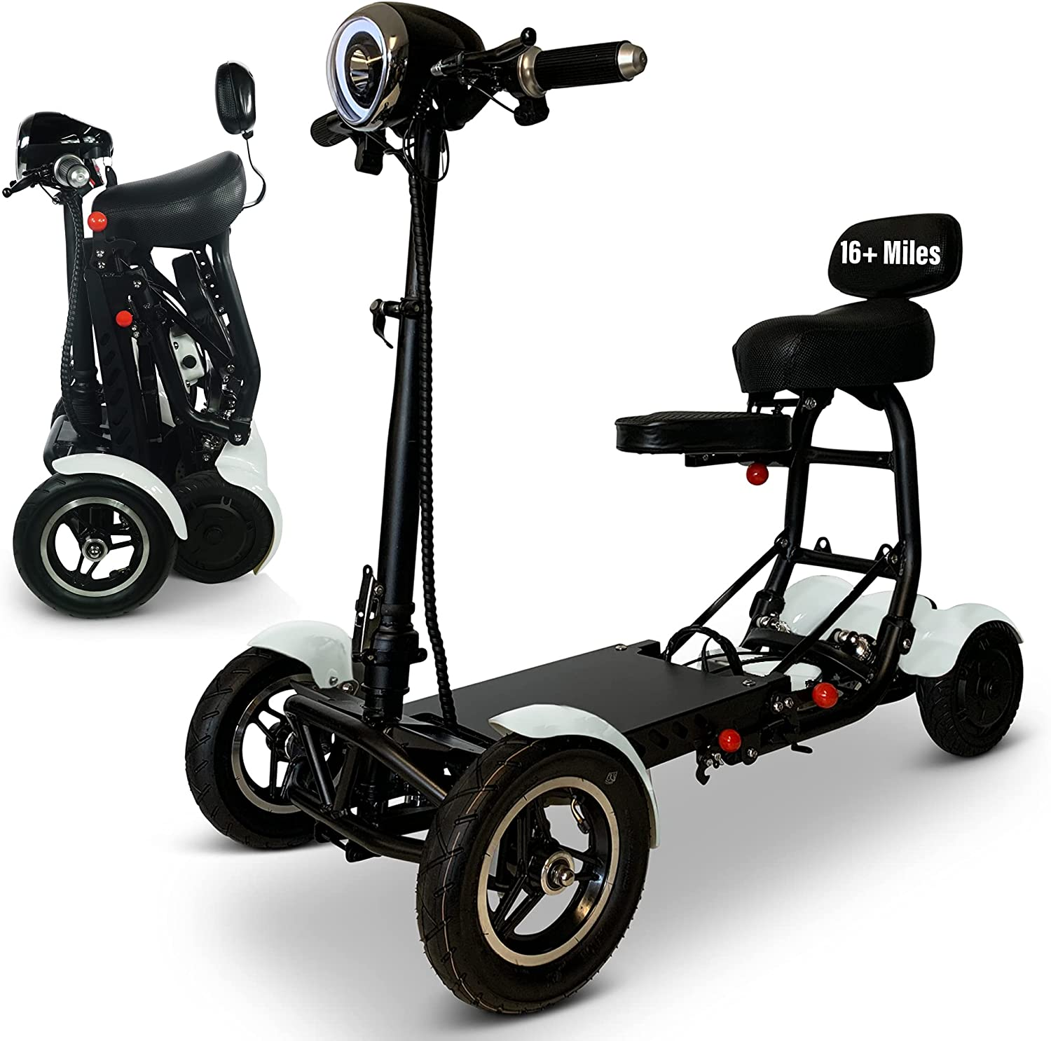 Powered Mobility Scooters for Adults Long-awaited w Folding Scooter Under blast sales Electric