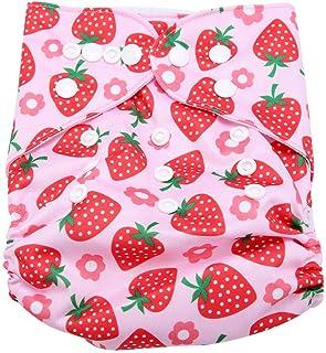 Calico Swim Diaper Baby Infant Snap Absorbente Lavable Swimsuit Pañal Reutilizable Swim Pañal Para Bebés Niños Lecciones De Natación, Talla Única Todos(#4)