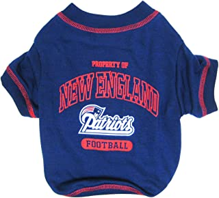 NEW ENGLAND PATRIOTS Dog T-Shirt, Small. - Cutest Pet Tee Shirt for the real sporty pup