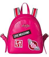 LOVE Moschino - Patch Backpack