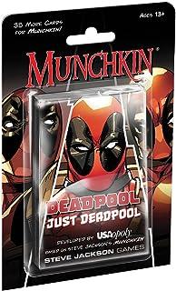 USAOPOLY Deadpool Munchkin Card Game