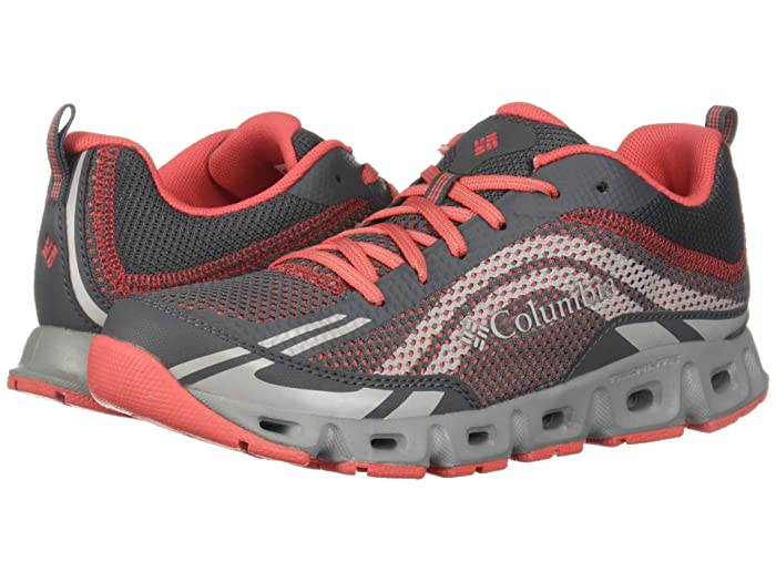 Columbia  Drainmaker IV (Graphite/Red Coral) Womens Shoes