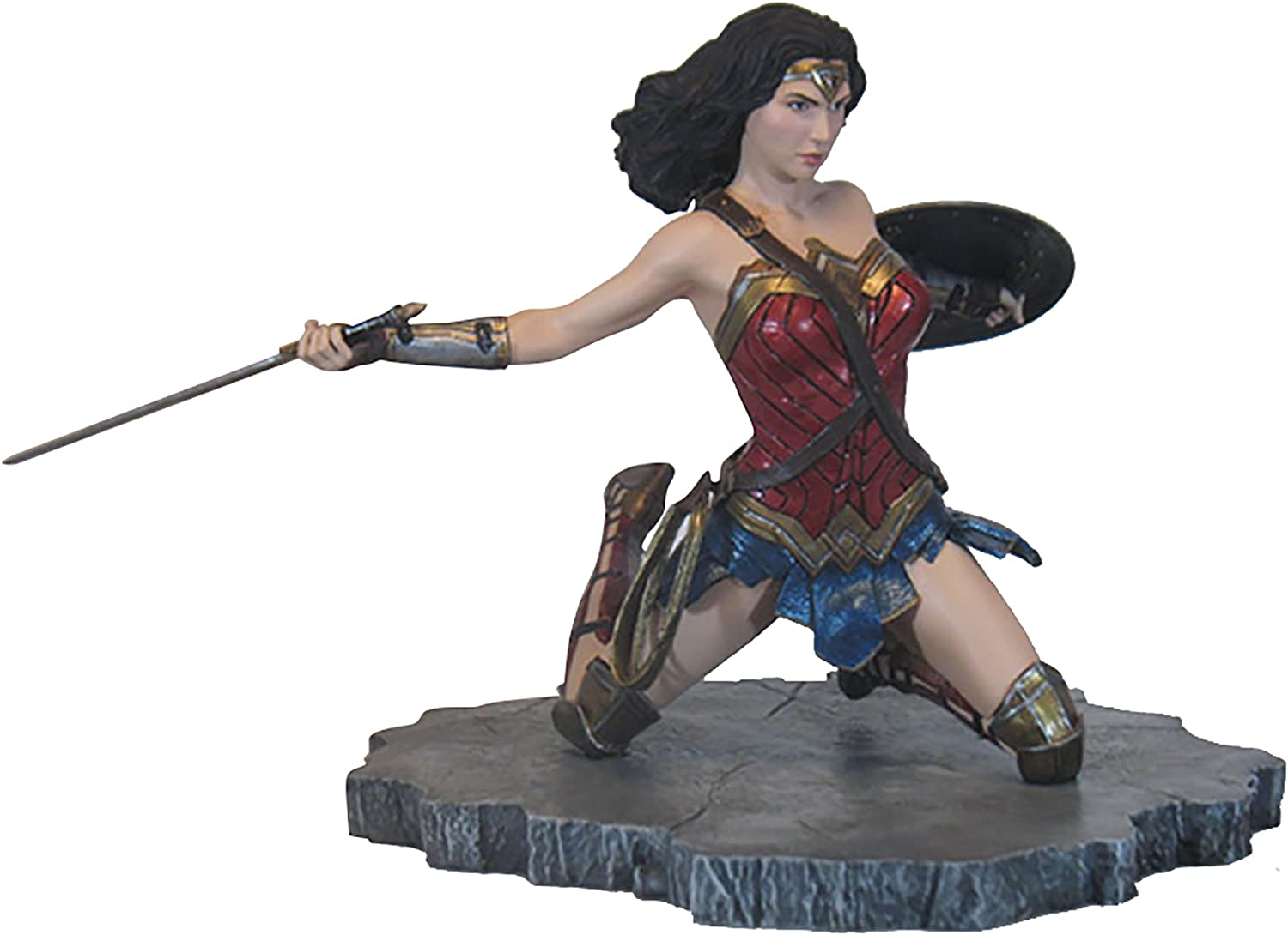Diamond Select Toys DC Gallery  Justice League Movie Wonder Woman PVC Vinyl Figure