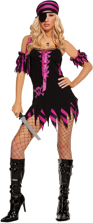 メーカー公式 Women's Sexy Pirate 出群 Captain Costume Cosplay Set