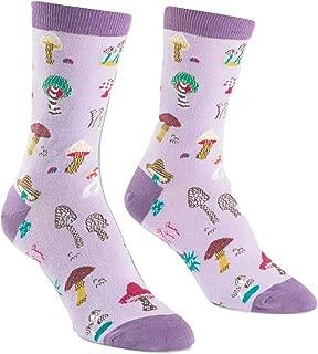 Sock It To Me, Fun Guys, Women's Crew Socks, Mushroom Socks