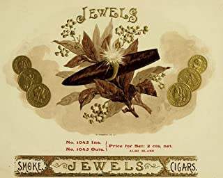 Jewels by Vintage Apple Collection Art Print, 39 x 31 inches