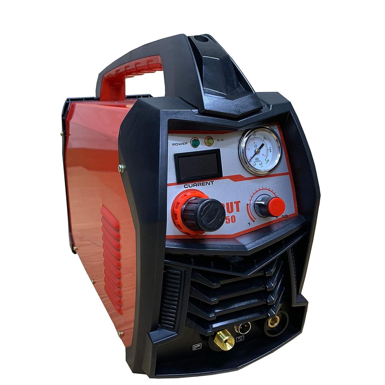 欲しいです年金反逆新型CUT50 100V/200V併用インバーター内蔵 プラズマカッター プラズマ切断機