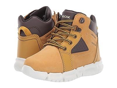 Geox Kids Flexyper Babx 1 (Toddler) (Beige/Brown) Boys Shoes