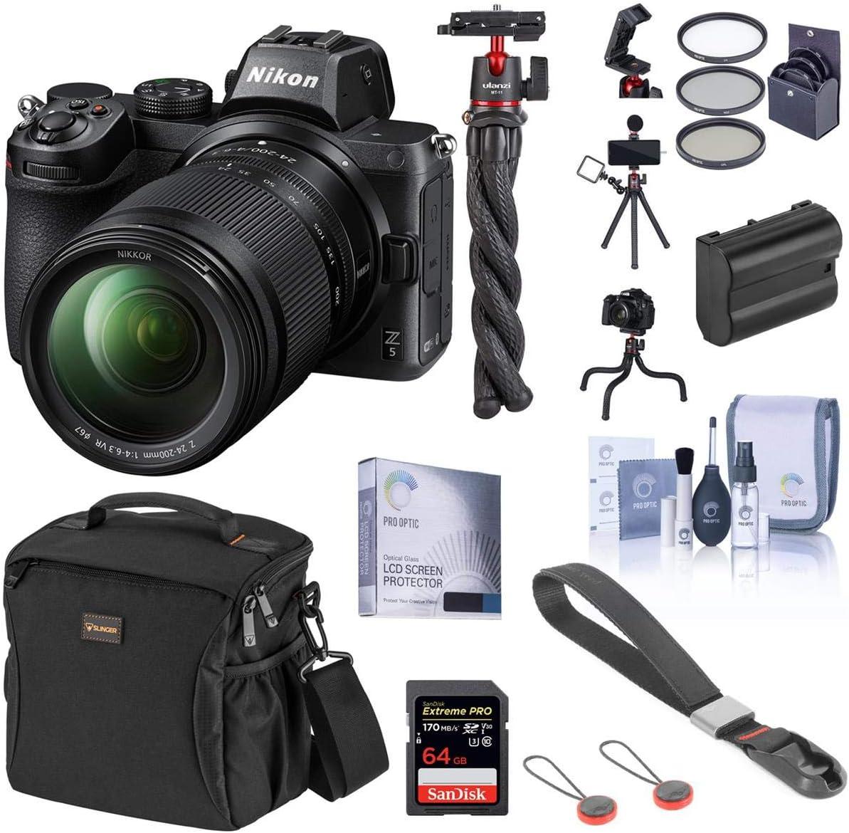 Nikon Z5 Full Frame Mirrorless Camera with Zoom VR outlet Nashville-Davidson Mall 24-200mm Lens