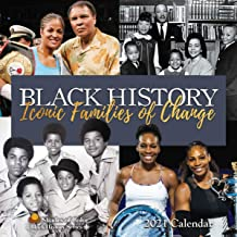 2021 African American Calendar, Black History: Iconic Families of Change, 12 by 12 Inches (21BH)