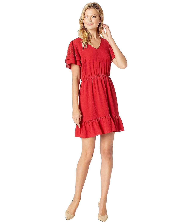 [マイケルコース] レディース ワンピース Double Sleeve w/Heat Stud Dress [並行輸入品]