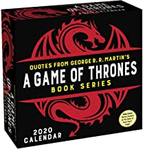 Quotes from George R. R. Martin's Game of Thrones Book Series 2020 Day-to-Day Ca