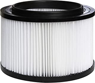 17810 Replacement Filter for Shop Vac Craftsman 9-17810 Wet Dry General Purpose Vacuum Cleaner fit 3 & 4 Gallon, 1 Pack