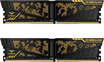 TEAMGROUP T-Force Vulcan TUF DDR4 Gaming Alliance 16GB (2x8GB) 3000MHz (PC4-24000) CL16 Desktop Memory Module ram