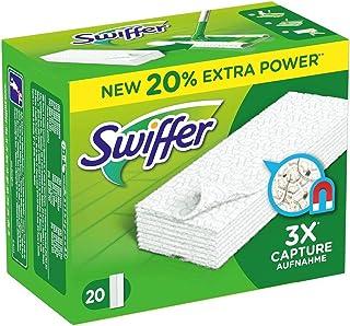 Swiffer Lingettes to Know The Sweeper by 4 (uppsättning av 4 lådor Antingen 80 våtservetter)