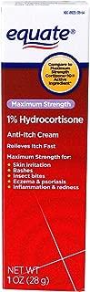 Equate Maximum Strength 1% Hydrocortisone 1oz Compare to Cortizone-10