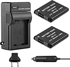 Venwo NB-11L/NB-11LH Battery (2-Pack) and Charger kit for Canon PowerShot ELPH 190 is, ELPH 180, ELPH 110 HS, SX400 IS, SX410 IS, SX420 IS, A2300 IS, A2400 IS, A2500, A3400 IS, A3500 IS, A4000 Camera