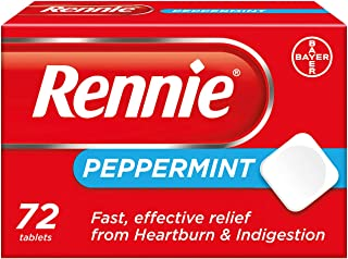 Rennie Peppermint 72 Tablets
