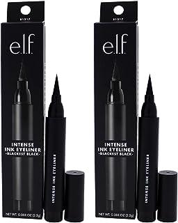 Intense Ink Eyeliner - Blackest Black by e.l.f. for Women - 0.088 oz Eyeliner - (Pack of 2)