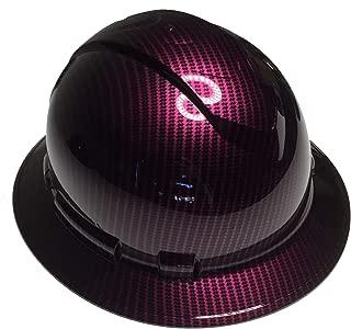 Hard Hat Ridgeline Full Brim Custom Wild Cherry Kandy Carbon Fiber