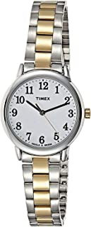 Timex Women's Easy Reader Two-Tone Bracelet/White Dial Watch - TW2R23900