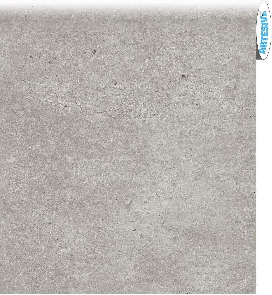 ARTESIVE ST-012 Cemento Crudo 30 cm x 10 MT. - Película Adhesiva