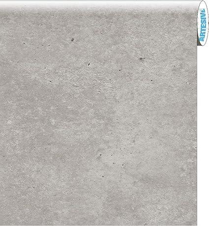 ARTESIVE ST-012 Cemento Crudo 60 cm x 2,5 MT. - Película Adhesiva