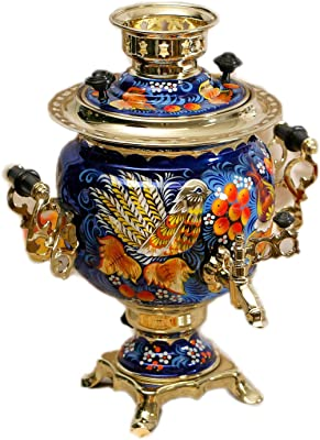 Electric Samovar ''Bird'' Traditional Russian Tea Maker