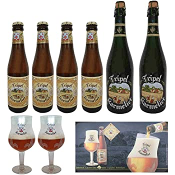 Estuche Cerveza Karmeliet 4 Bot. 33 Cl. + Copa: Amazon.es: Bebé