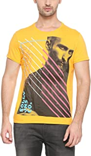 Allen Solly Men's Printed Slim fit T-Shirt