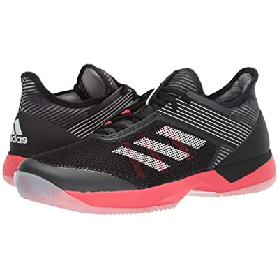 adidas adizero Ubersonic 3 (Core Black/Footwear White/Shock Red) Women