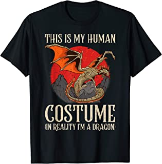Halloween Dragon Fans Choose to Be a Dragon Horror Costume  T-Shirt