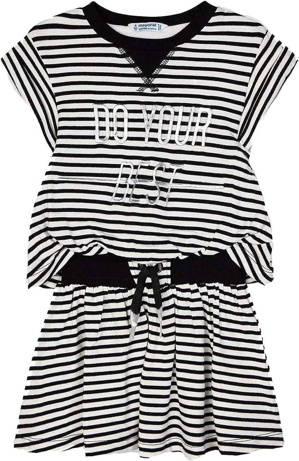 Mayoral - Dress for Girls - 3966, Black