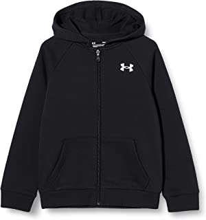 Under Armour Boys' Rival Cotton Full-Zip Hoodie