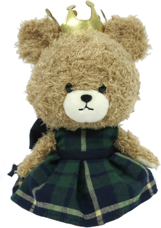 Bears school mokomokomarie Groovy check plush S size