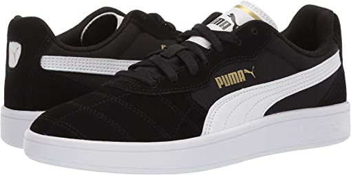 Puma Black/Puma White/Puma Team Gold