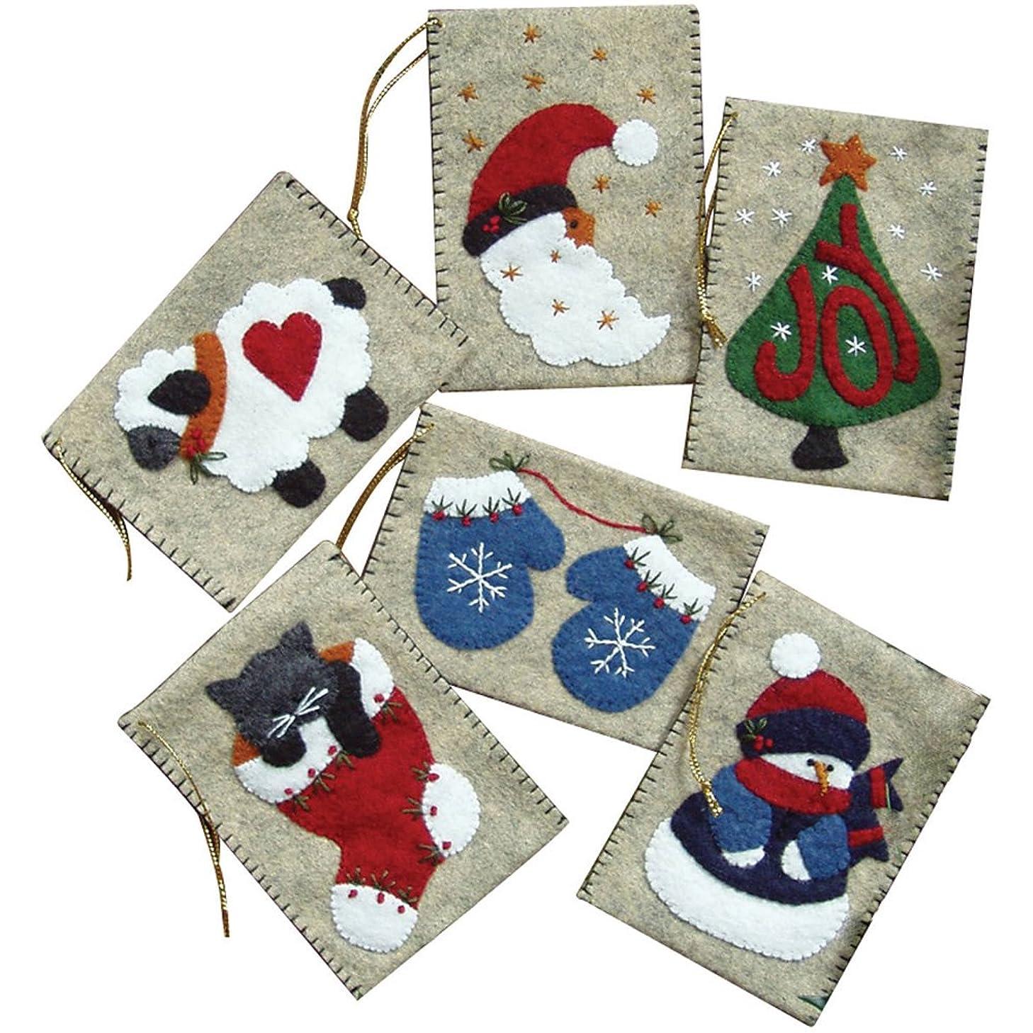 Rachel's Of Greenfield Gift Bag Ornaments Kit-3
