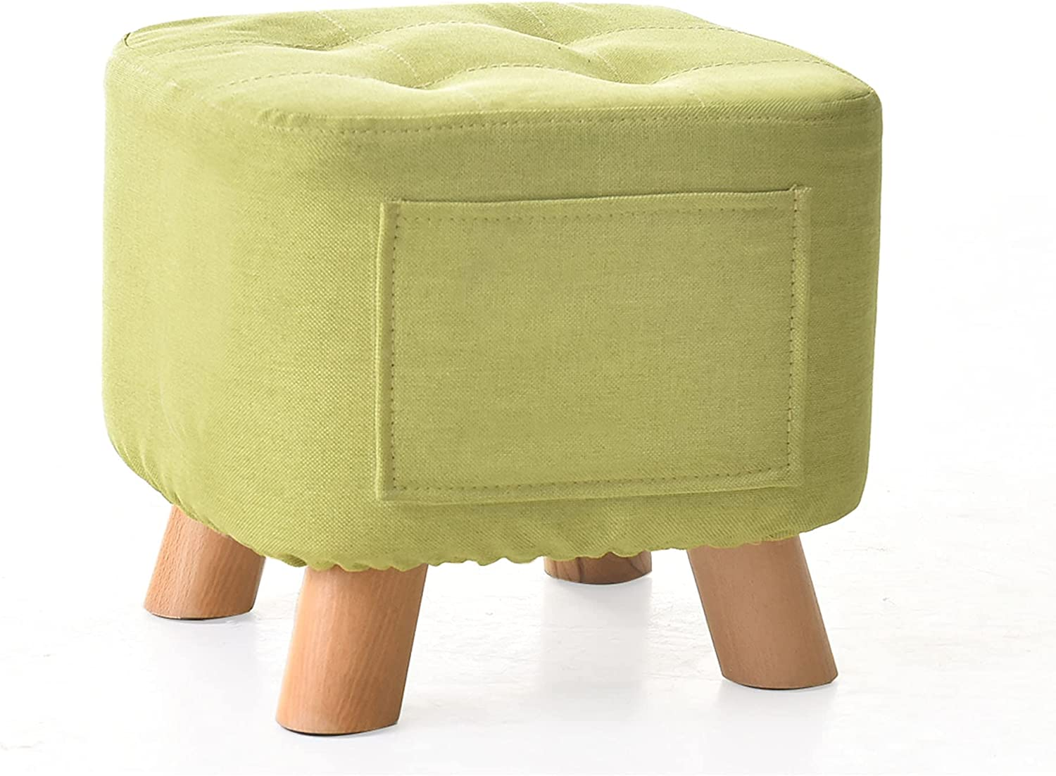 Footstool Square Ottoman with Side Stool Removabl Low Storage Max 83% unisex OFF