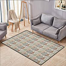 Collection Area Rug,Music,Classical Instrumets String Quartet Violins Baroque Sonata,Extra Large Rug,3'11