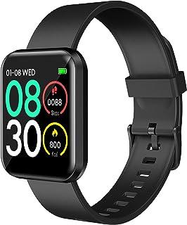 "Lenovo E1 Pro Smartwatch | 1.4"" Full Touch HD Screen | Heart Rate/Blood Pressure/SpO2/Sleep Monitoring"