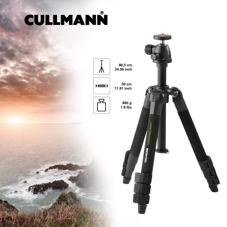 Cullmann Nanomax 400T RB5.1 - Trípode Portátil (hasta 86.5 cm ...