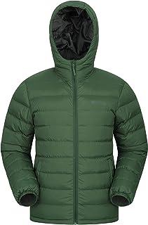 Mountain Warehouse Seasons Rivestimento di Mens - Cappotto Riempito di Mens, Peso Leggero, Cappotto Resistente all'Acqua d...