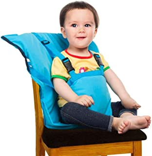Baby High Chair Portable Easy Seat Harness for Travel Feeding Time, Suitable for Dining Camping Chair, Holds Baby Infant T...