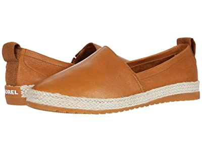 SOREL Ellatm Slip-On Jute (Camel Brown) Women