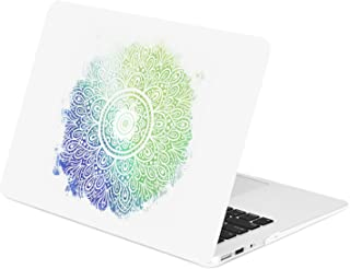 TOP CASE - Gradient Ombre Graphics Rubberized Hard Case Compatible Older Generation MacBook Air 13