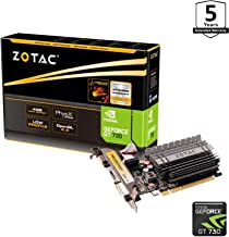 ZOTAC GeForce GT 730 Zone Edition 4GB DDR3 PCI Express 2.0 x16 (x8 lanes) Graphics Card (ZT-71115-20L)