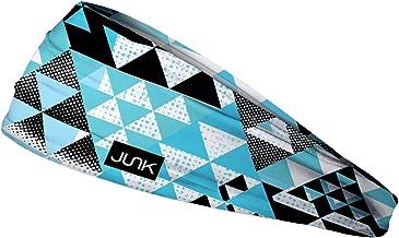 JUNK Brands Alps Big Bang Lite Headband, Blue/White/Black, One Size