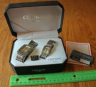 cipriani quartz watch