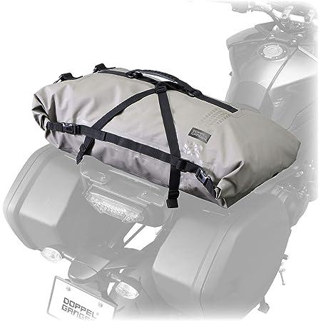 DOPPELGANGER(ドッペルギャンガー) DOPPELGANGER(ドッペルギャンガー) ターポリンツーリングシートバッグ 【キャンプツーリングに必要な防水・大容量・確実な固定】 60L バイク用 ターポリンバッグシリーズ